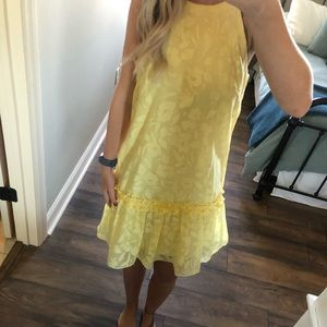 NWOT London Times Yellow Dress